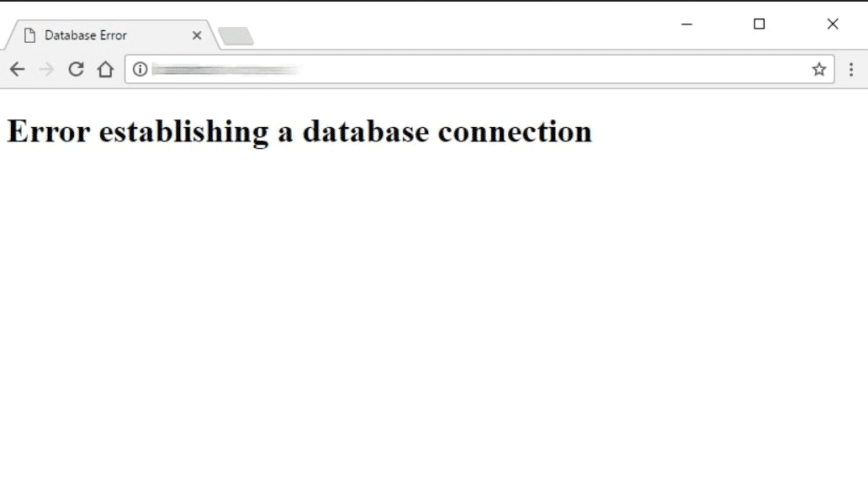 """How To Fix """"Error Establishing a Database Connection"""""""