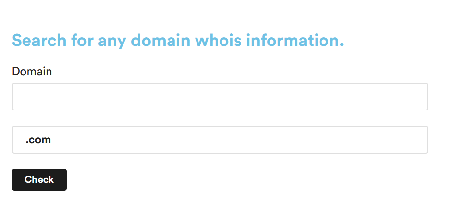 How to identify a Domain Owner